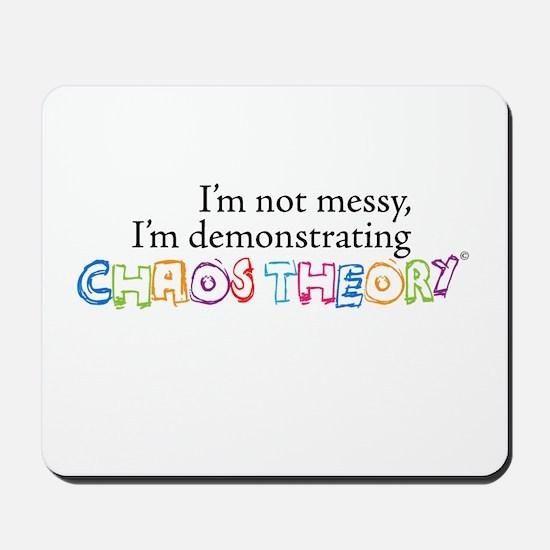 Chaos Theory Multi-colored Mousepad