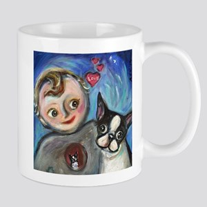Boston Terrier baby love Mug