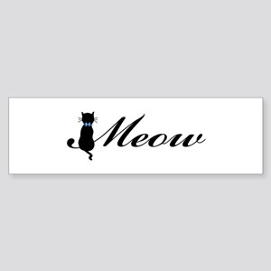 Meow Sticker (Bumper)