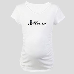 Meow Maternity T-Shirt