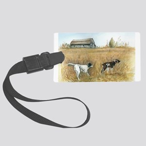 Bird Hunters Large Luggage Tag