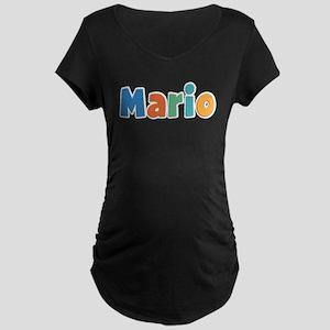 Mario Spring11B Maternity Dark T-Shirt