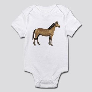 Quarter Horse (Front only) Infant Bodysuit