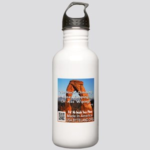 Delicate Arch No Rock Climbing Stainless Water Bot