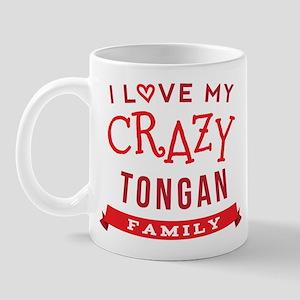 I Love My Crazy Tongan Family Mug