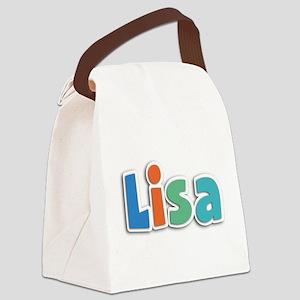 Lisa Spring11B Canvas Lunch Bag