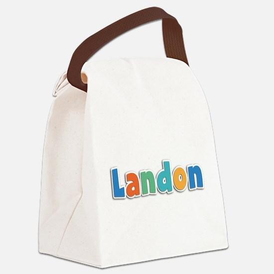 Landon Spring11B Canvas Lunch Bag