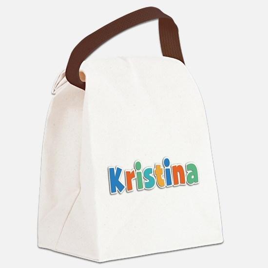 Kristina Spring11B Canvas Lunch Bag