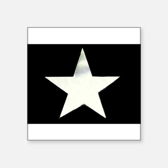 "Star Square Sticker 3"" x 3"""