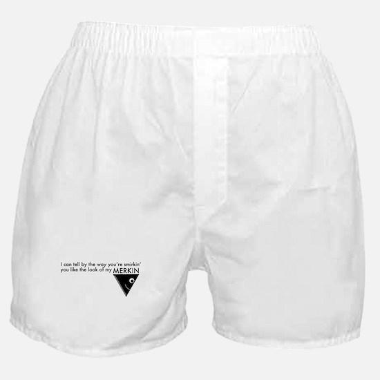 Cute Merkin Boxer Shorts
