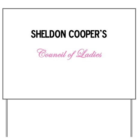 Council of Ladies Yard Sign
