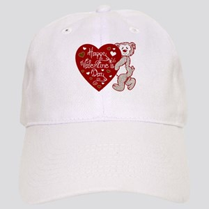Valentines Day Bear Cap