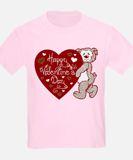 Valentines Day Bear T-Shirt