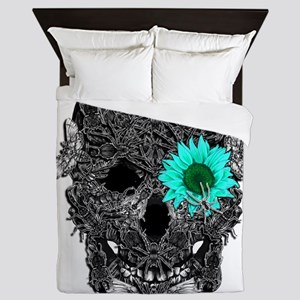 Insect Skull Queen Duvet