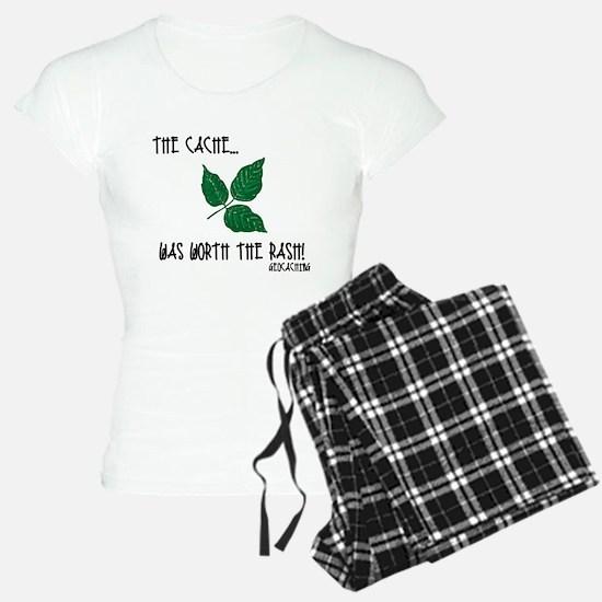 The Cache was worth the rash! pajamas