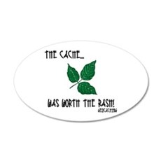 The Cache was worth the rash! Wall Decal