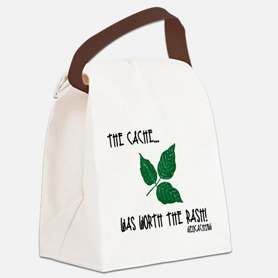 The Cache was worth the rash! Canvas Lunch Bag