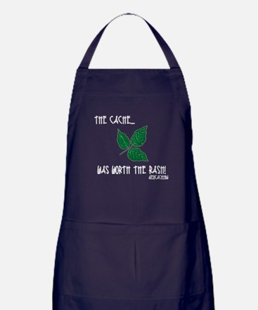 The Cache was worth the rash! Apron (dark)