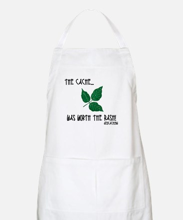 The Cache was worth the rash! Apron