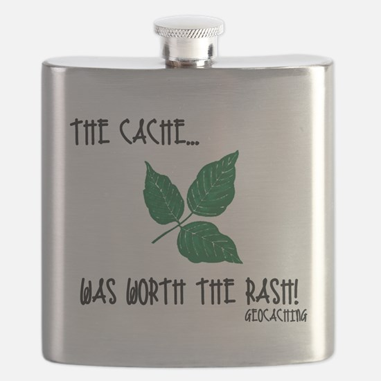 The Cache was worth the rash! Flask