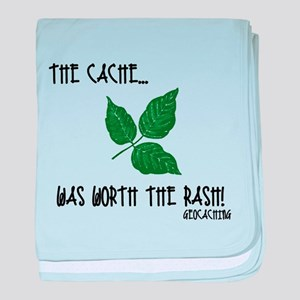 The Cache was worth the rash! baby blanket
