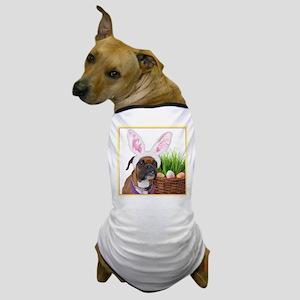 Easter Boxer Dog Dog T-Shirt