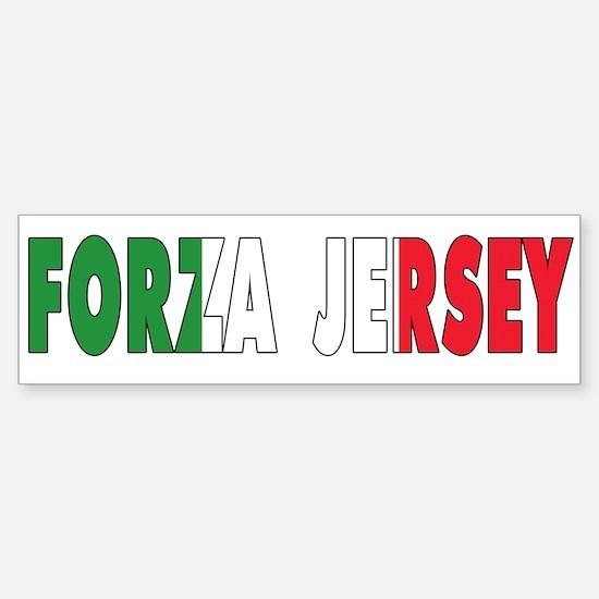 New Jersey Italian Sticker (Bumper)
