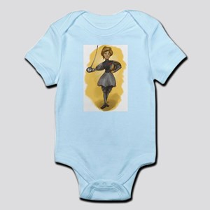 The Victorian Fencer Infant Bodysuit