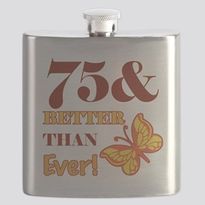 75 And Better Than Ever! Flask
