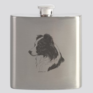 Border Collie Flask
