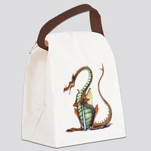 sir draagon canvas lunch bag