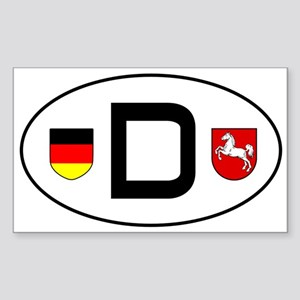 Germany car sticker (Niedersachsen variant) Sticke