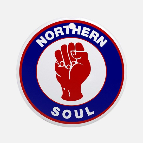 Northern Soul Retro Ornament (Round)