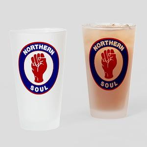 Northern Soul Retro Drinking Glass