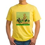 KNOTS Run Yellow T-Shirt