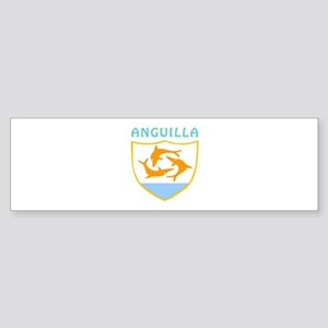 Anguilla Coat of arms Sticker (Bumper)