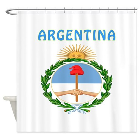 Argentina Coat of arms Shower Curtain