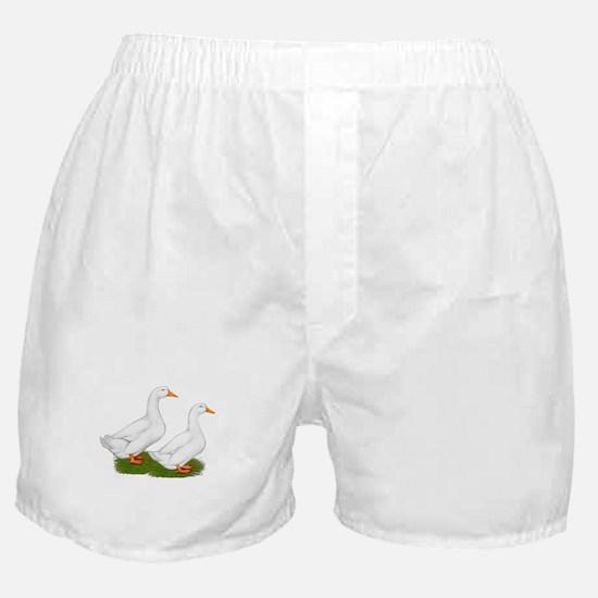 White Pekin Ducks 2 Boxer Shorts