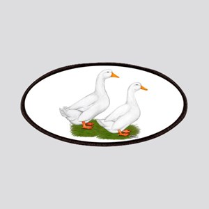 White Pekin Ducks 2 Patches