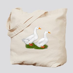 White Pekin Ducks 2 Tote Bag