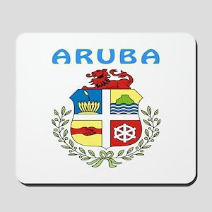 Aruba Coat of arms Mousepad