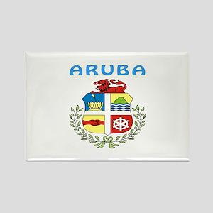 Aruba Coat of arms Rectangle Magnet
