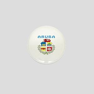 Aruba Coat of arms Mini Button