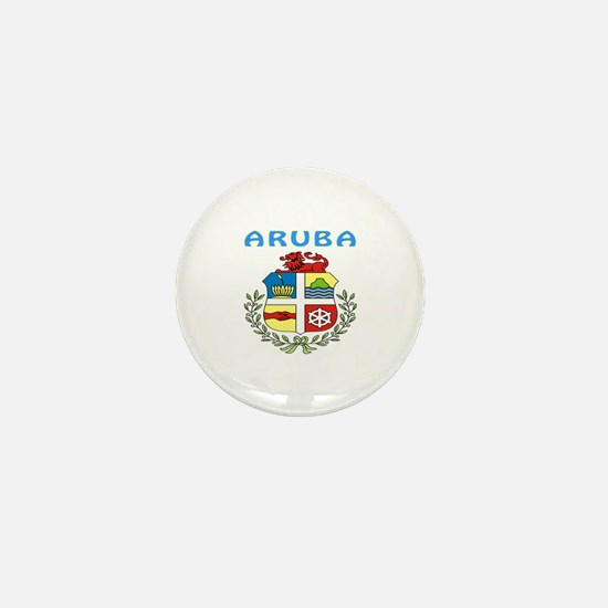 Aruba Coat of arms Mini Button