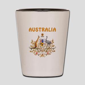 Australia Coat of arms Shot Glass