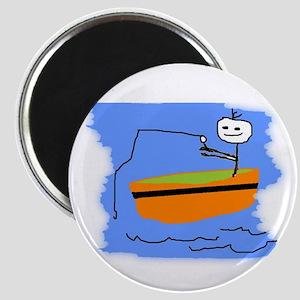BOY FISHING Magnet