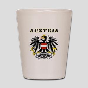 Austria Coat of arms Shot Glass