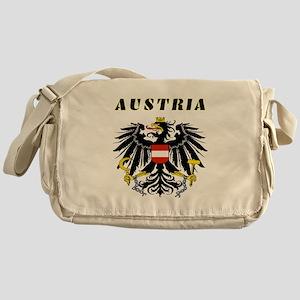 Austria Coat of arms Messenger Bag