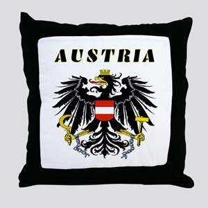 Austria Coat of arms Throw Pillow