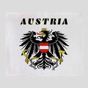Austria Coat of arms Throw Blanket